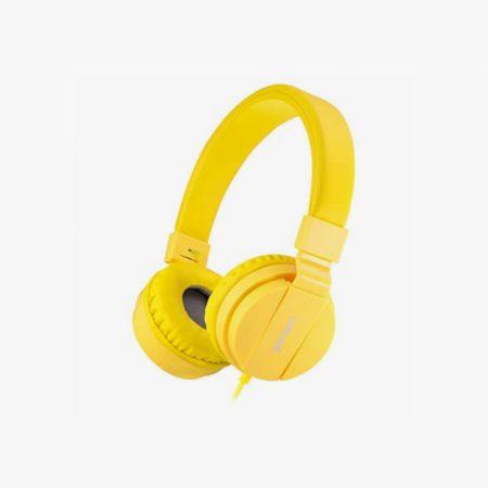 Auriculares amarilos