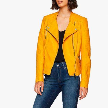 Chaquetas amarillas mujer