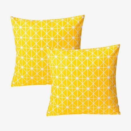 Cojines amarillos