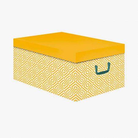 Cajas amarillas